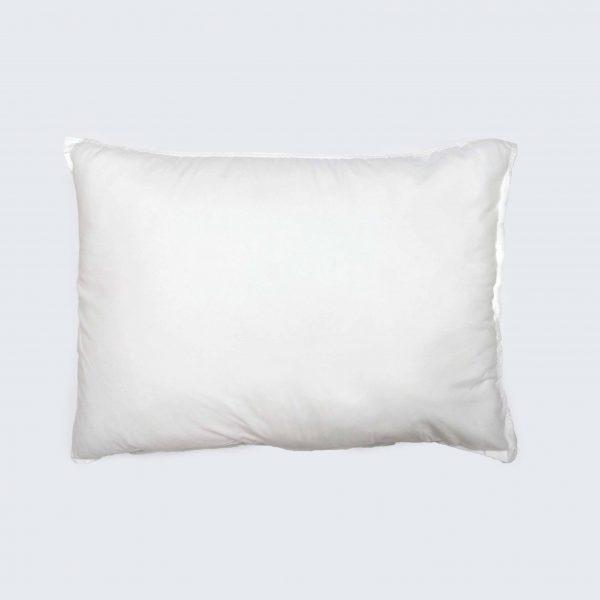 Подушка силікон біла